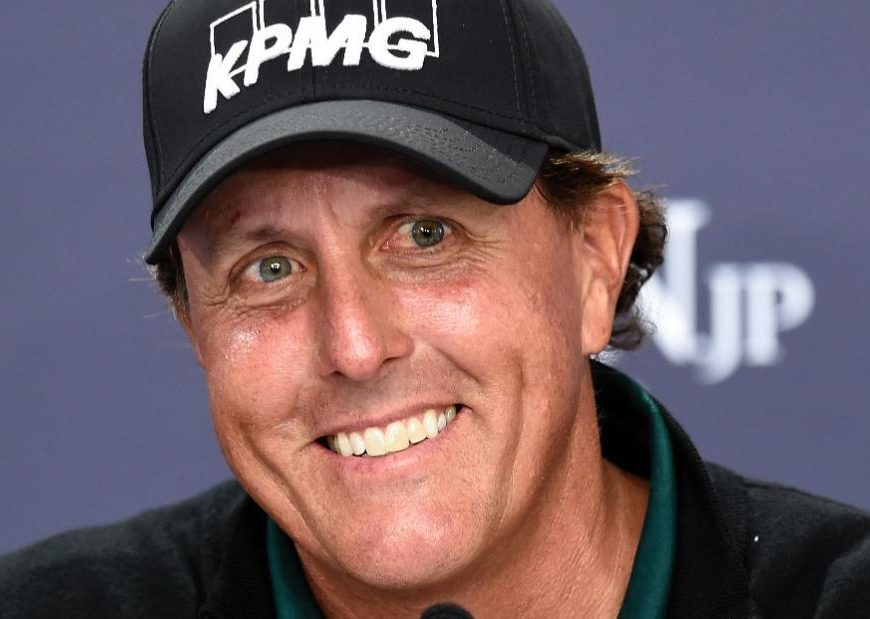 Fan favorite Phil Mickelson still pushing for grand slam glory