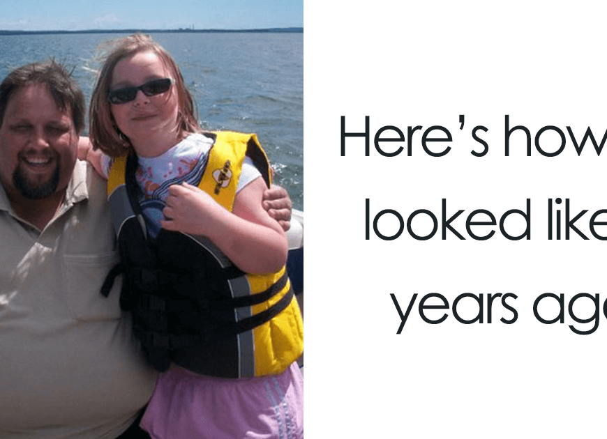 Obese Dad Finds Out He Needs 2 Seats On Evacuation Flight, Transforms His Body Beyond Recognition In 2 Years