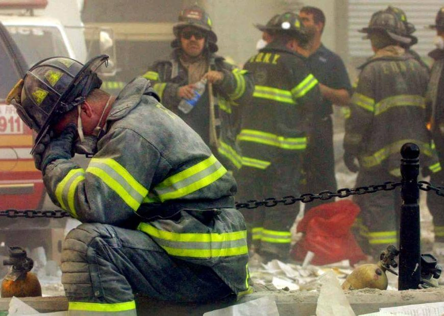 9/11 attack tied to cardiovascular risk in firefighters, study says