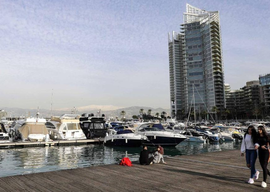 Beirut once billed itself as a glitzy capital. Now its economy faces a painful reckoning