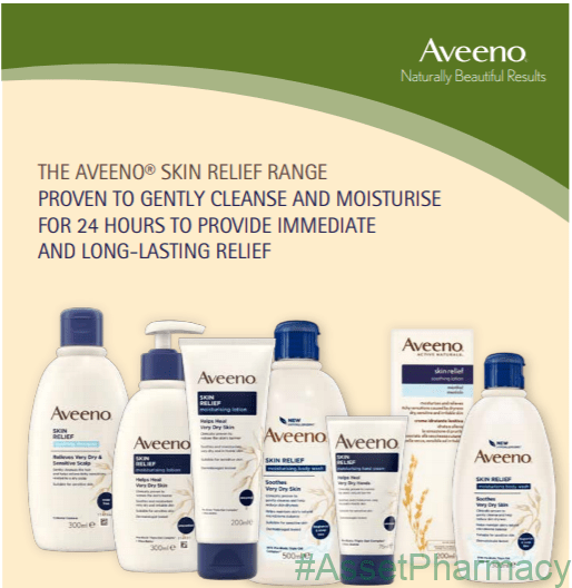 The aveeno range