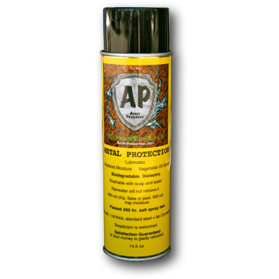 Biodegradable Corrosion protection spray