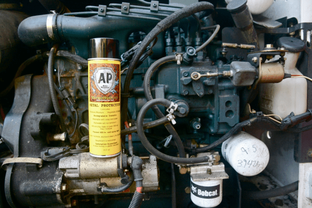 Corrosion protection for car engine