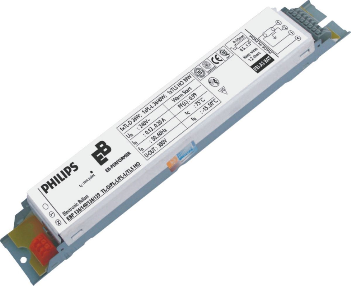 eb p electronic ballast for tl d pl l tl5 lamps [ 1200 x 978 Pixel ]