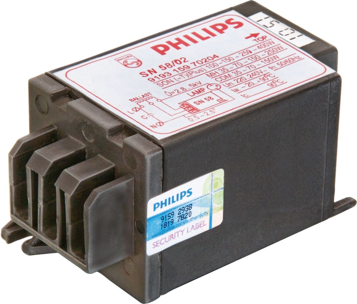SN 5802 Electronic Ignitors for HID lamp circuits (India
