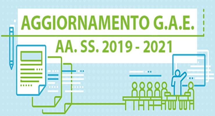 Aggiornamento Graduatorie Ad Esaurimento Gae 2019 2021