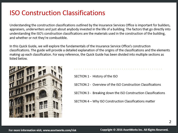 Understanding ISO Construction Classes  Building Types