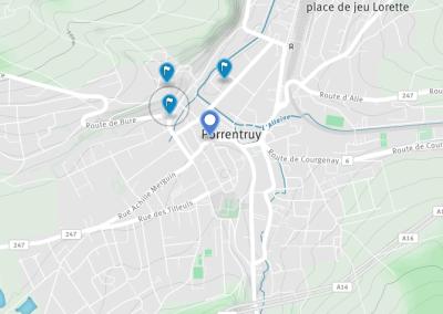 Visite à la carte