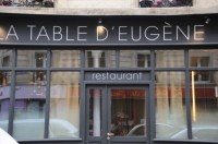 Djeuner  la Table d'Eugne,  Paris -