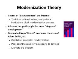 Modernization Theory  Assignment Point