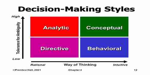 Decision Making Style Assignment Point