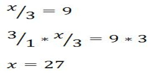 Division Equations with Single and two Digits number