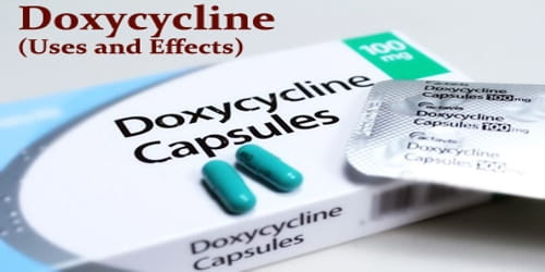 Doxycycline (Uses and Effects) - Assignment Point
