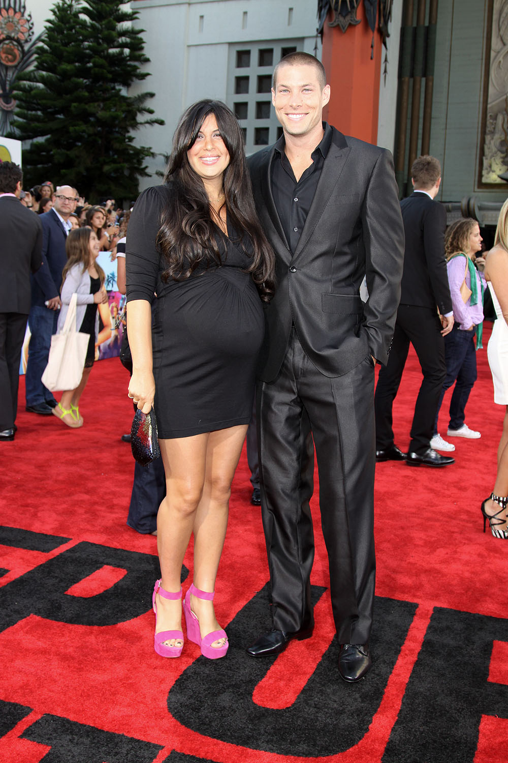 Chadd Smith And Wife At The Los Angeles Premiere Of STEP