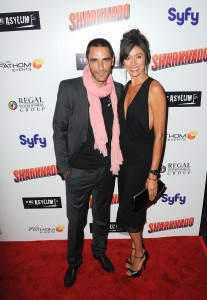 Israel Saez de Miguel and Star Sargenti attends The Los