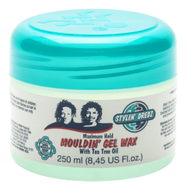 Stylin' Dredz Mouldin' Gel Wax Maximum Hold 250ml