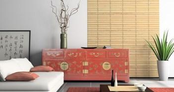 estilo oriental de decoraçao
