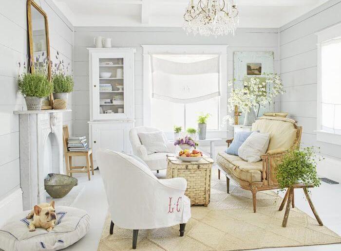 sala pequena minimalista