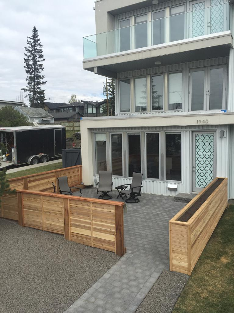 Fence  Gate Construction Calgary  Landscaping Company