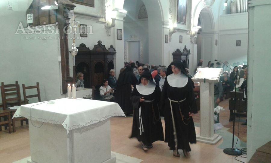 Assisi OFM  News  Trasferimento delle Clarisse di Trevi  Assisi OFM