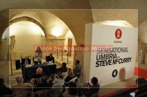 Inaugurazione mostra Sensational Umbria Steve Mcurry