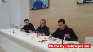 Conferenza stampa al Sacro Convento