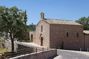Bosco di san Francesco, Chiesa di Santa Croce