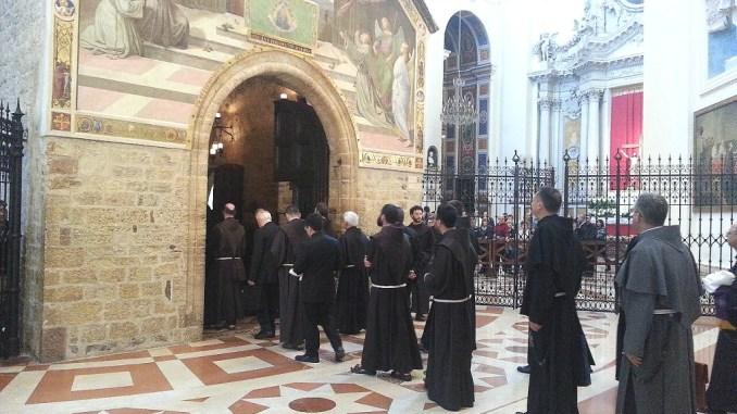 Frati Francescani in Umbria, evangelizzazione e la comunione fraterna