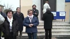 Protesta e raccolta firme strada Castelnuovo Assisi5