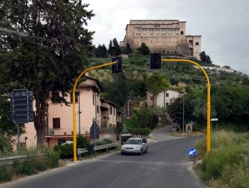 Assisi -Nuovi semafori
