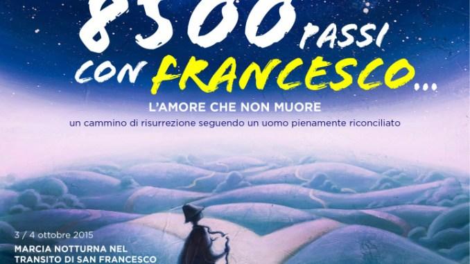 8500 passi con Francesco ad Assisi