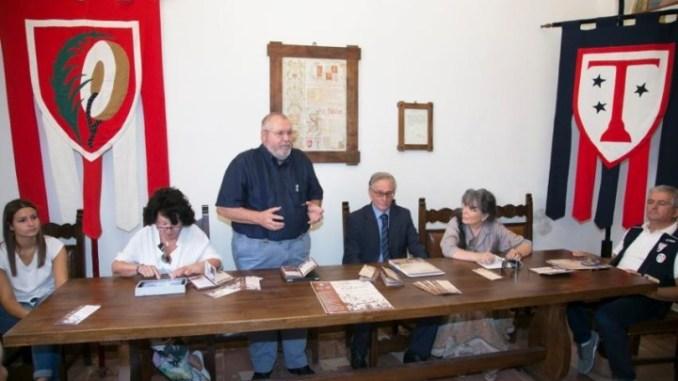 Antonio Lunghi ringrazia la Compagnia Balestrieri di Assisi