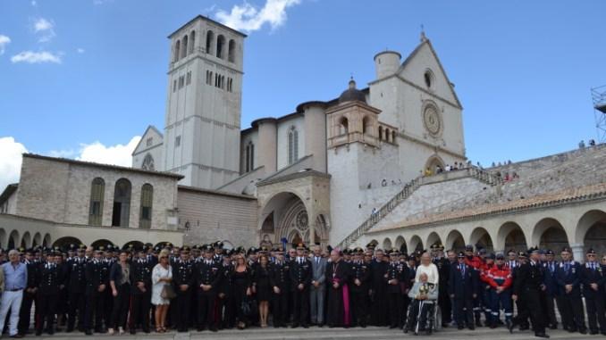 Pellegrinaggio ad Assisi per Carabinieri e famiglie