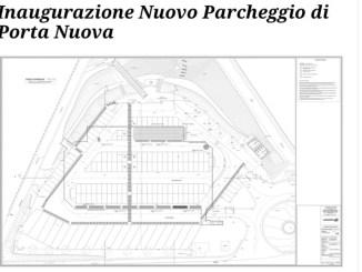 Parcheggio di Porta Nuova, inaugurazione giovedì 1 ottobre