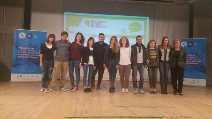 Racconta il tuo museo 2.0 premia i ragazzi del Liceo Scientifico di Assisi