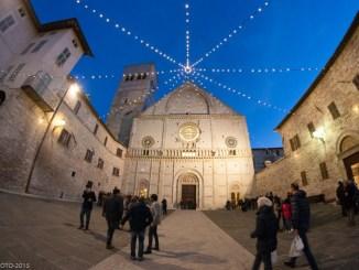 Apertura Porta Santa Assisi, Cattedrale di San Rufino (Le foto)