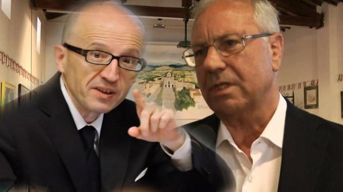 Giorgio Bartolini, Claudio Ricci fa peggio rattoppo Volano stracci tra i due ex sindaci della Città Serafica di Assisi