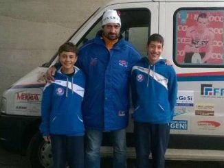Ciclocross: grande debutto in maglia Uc Petrignano per gli esordienti Ricci e Mosca