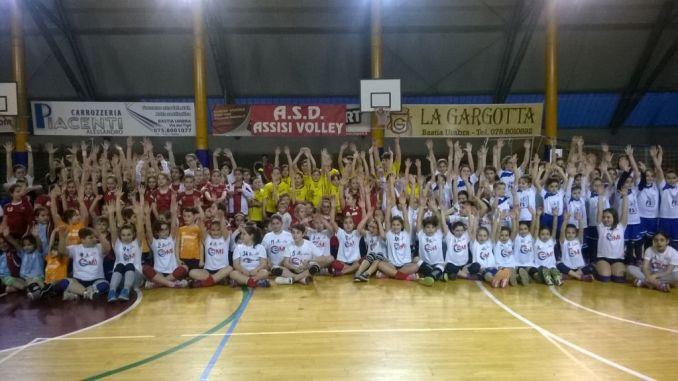 Torneo Fipav, Mini Volley Assisi, giornata di festa per i pulcini