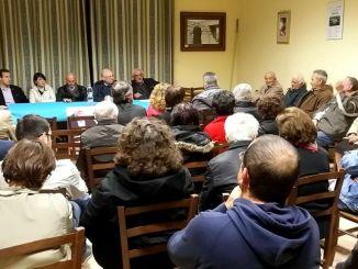 Giorgio Bartolini ha incontrato i cittadini di Porziano