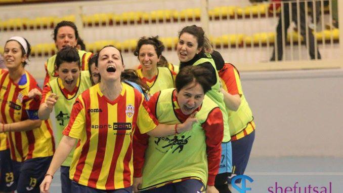 Angelana Calcio a 5 Femminile: è Serie A!!!