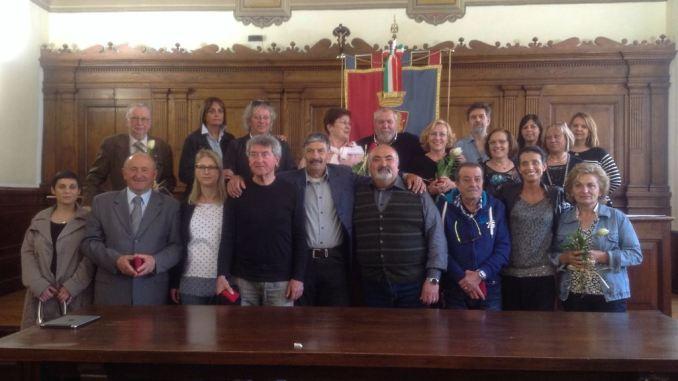 Medaglie agli ex dipendenti del Comune di Assisi
