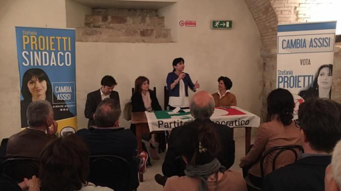 Elezioni Assisi, Proietti, incontro Tutela Beni Culturali