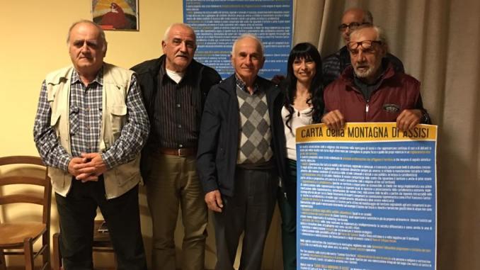 Assisi, Carta della Montagna nel programma elettorale di Proietti