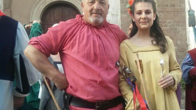 Calendimaggio, è magnifica Madonna primavera, Monna Alessia Aristei è la reginetta