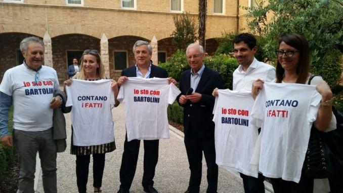 Ballottaggio Assisi, Tajani al Cenacolo per sostenere Bartolini