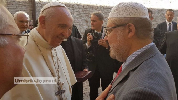 Imam di Perugia, ringraziamenti e auspici per felice incontro con Papa Francesco
