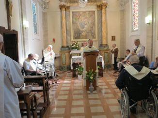 Assisi, Porziuncola, Maria, Regina in Infermeria, umile e semplice