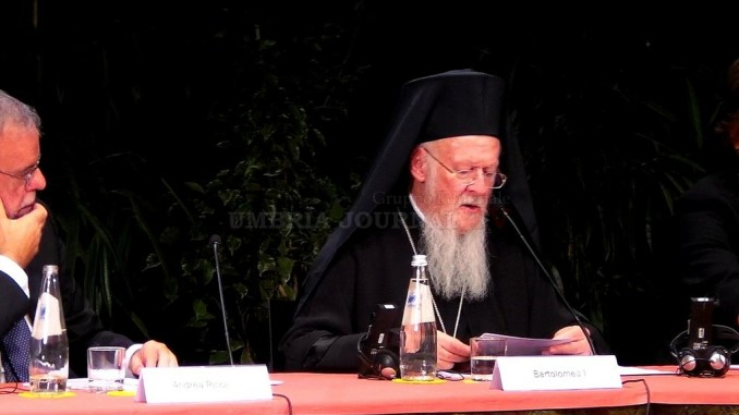 Patriarca Bartolomeo I, ad Assisi, pace scelta individuale e istituzionale