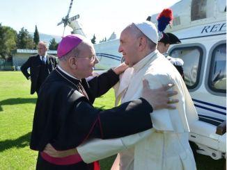 Sala Spogliazione, Papa Francesco scrive a Monsignor Domenico Sorrentino